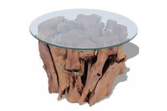 Coffee Table Solid Teak 60 Cm
