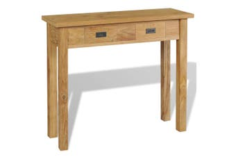 Console Table Solid Teak 90 x 30 x 80 Cm