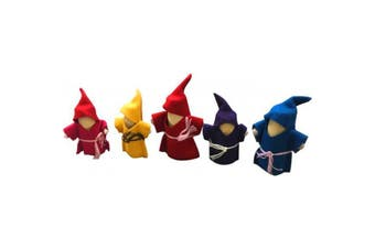 Wooden Gnomes Set of 5