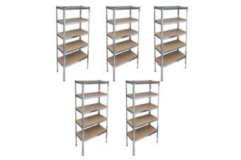 Storage Rack Garage Storage Shelf (5 Pcs)