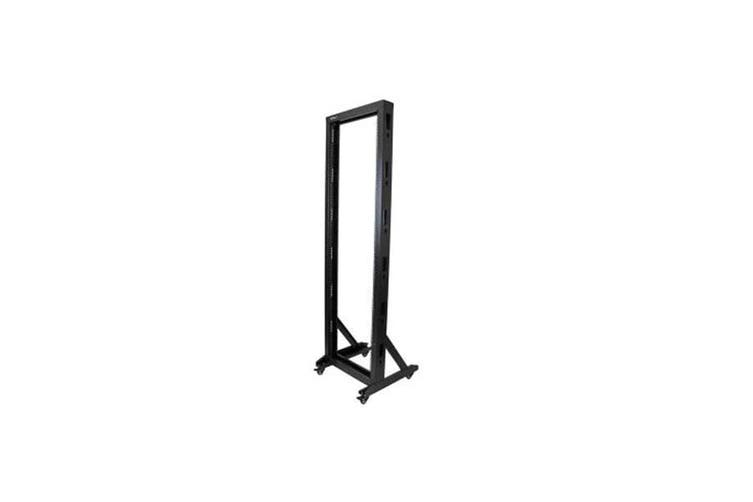 Startech 2 Post Server Rack With Sturdy Steel And Casters 42U