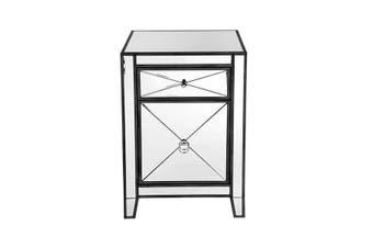 Apolo Bedside Table - Black