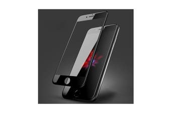 Full Screen Tempered Glass Screen Protector For iPhone 8 Plus - Black