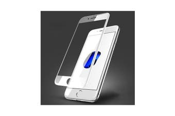 Full Screen Tempered Glass Screen Protector For iPhone 8 Plus - White