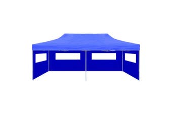 Fold-able Pop-up Party Tent 3 x 6 M - Blue