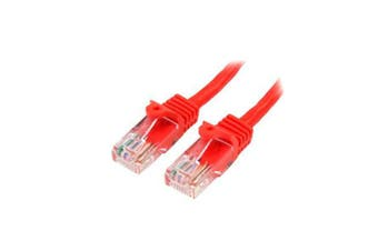 Startech Red Snagless Cat5E Patch Cable