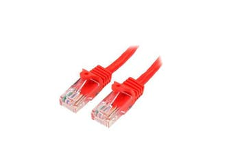 Startech 5M Red Snagless Cat5E Patch Cable