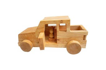 Wooden Safari Jeep