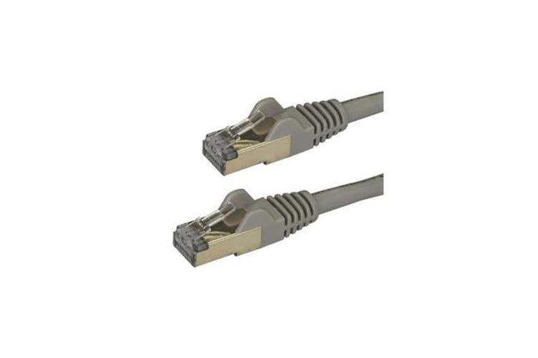 Startech 2M Gray Cat6A Ethernet Cable Stp