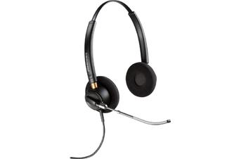 Plantronics Encorepro HW520V Over-The-Head Wideband Corded Headset
