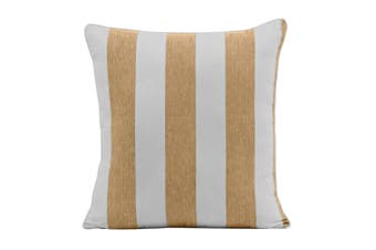 Outdoor Stripe Cushion 45x45cm Taupe