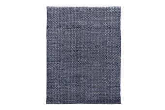 Brinley Stonewashed Cotton Rug 160x230cm Indigo