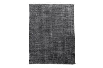 Brinley Stonewashed Cotton Rug 160x230cm Charcoal