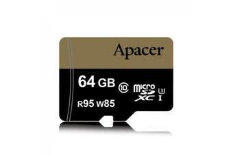 Apacer Sdxc 64Gb Uhsi Class10 Retail For Dslr And Video Recorder