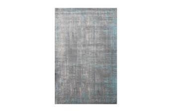 Aqua Silk Grey Rug 250 X 350 Cm