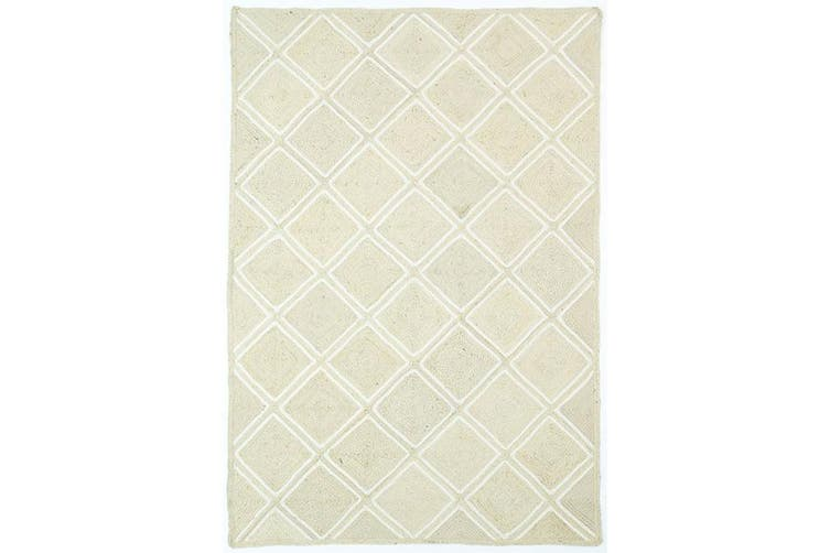 Artisan Natural Parquetry Pearl Rug