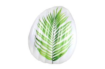 Inflatable Palm Leaf Air Mat