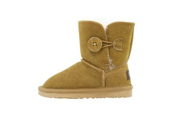UGG Kids Button Boots Bao Chestnut