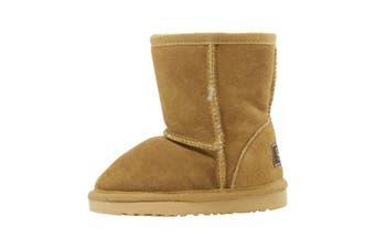 UGG Kids Classic Boots Bea Chestnut