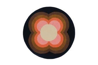 Sunflower Pink Round Designer Hand Tufted Rug 200X200 Cm