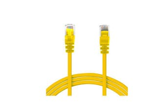 50Cm Rj45 Cat6 Patch Cable - Yellow