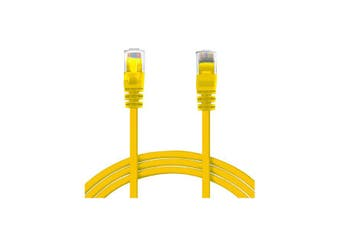 50M Rj45 Cat6 Patch Cable - Yellow