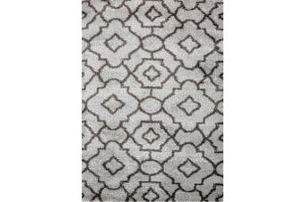 Carmela Floral LIGHT GREY Area Rug - 200x290