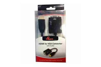 HDMI to VGA Converter without Power Adapter