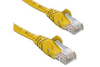 RJ45M Cat5E Network Cable - Yellow
