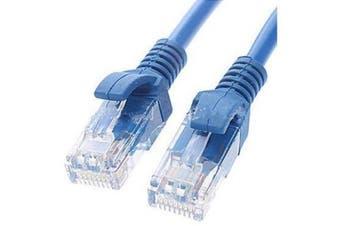 CAT5e Cable 1m - Blue Color Premium RJ45 Ethernet Network