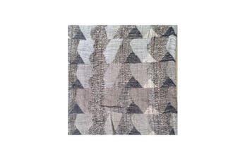 Grey Wool Silk Cushion Cover