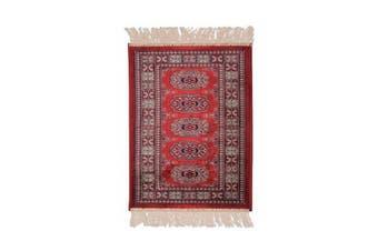 Chiraz Little Red Rug - 35 x 35 cm