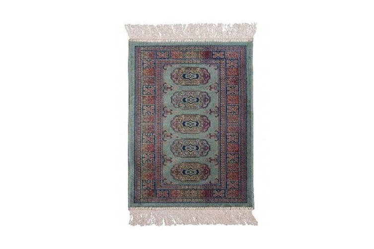 Chiraz Little Green Rug - 35 x 80 cm