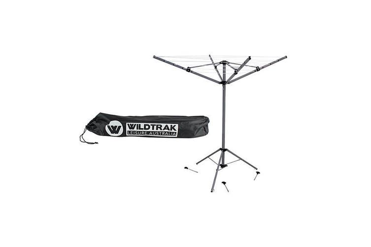 Collapsible Portable Rotary Clothes, Portable Round Clothesline