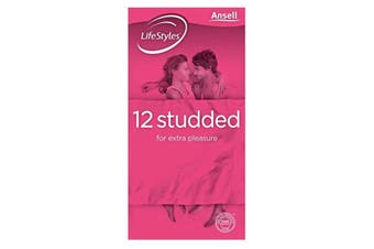 Ansell LifeStyles Studded 12 Pack
