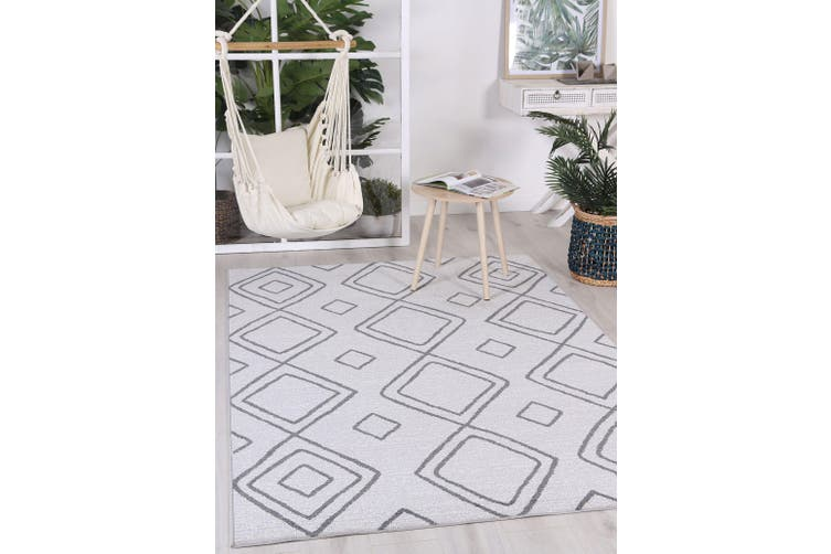 Courtyard Marrakesh Grey Rug - 200x290 cm