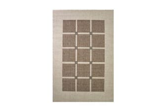 Decora Brown Polypropylene Rug - 80 x 150 cm