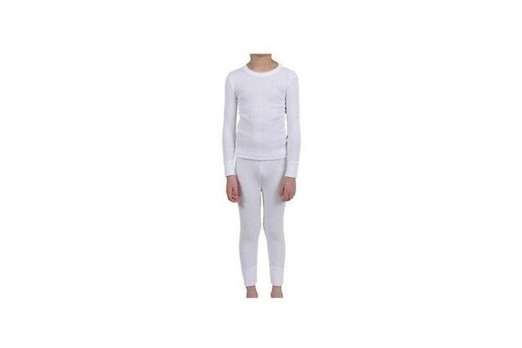 Peter Storm Baselayer Set Thermals for Kids - Small / White