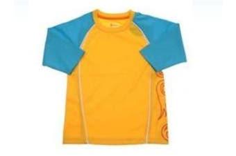 CROCS Boys Rashie Swim T-Shirt (Size 2)
