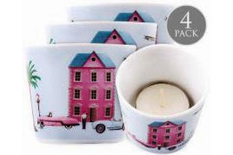 Christopher Vine Design Candle Votive Tea Light Holder - Sweet Home