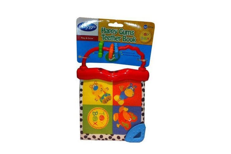 Playgro Gums Teether Book (Red)