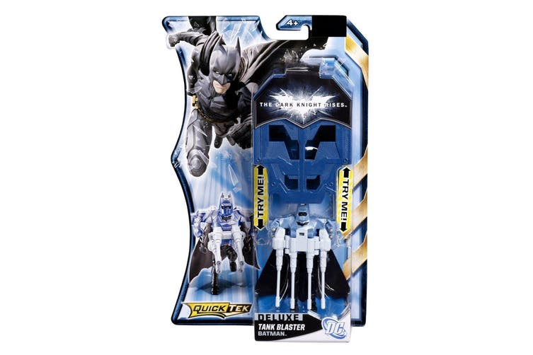 The Dark Knight Rises Deluxe Quicktek Figure - Tank Blaster Batman