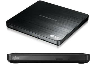8x Ultra Slim Portable External USB DVD Drive Burner