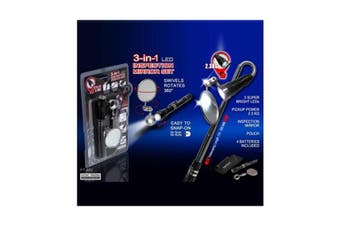 3in1 Inspection Mirror Set