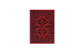 Allure Afghan Khal Red Rug