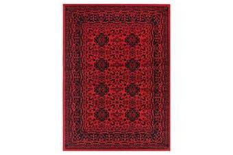 Allure Afghan Herat Red Rug - 80x300cm