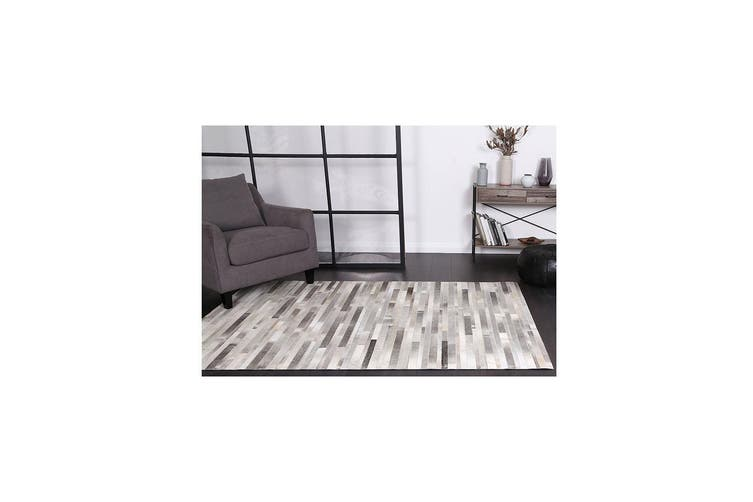 Sky Leather Bricks Rug - 160x230 cm