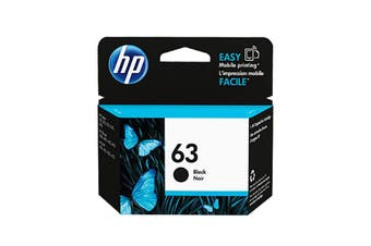 Hp 63 Black Ink F6U62Aa