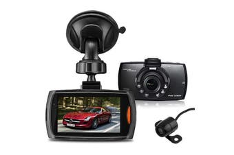 Full HD 1080p Car Dash Camera with FREE Reverse Camera