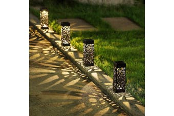 Solar Powered Garden Lights - four pack